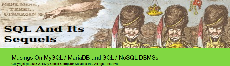 SQL And Its Sequels